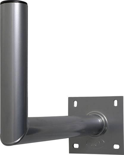 SAT-Wandhalterung A.S. SAT 10145 Wandabstand: 45 cm Passend für Spiegelgröße: Ø bis 90 cm Silber