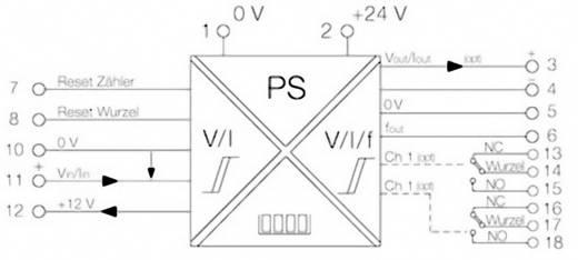 Weidmüller PTX800A 4-20MA Signalwandler/-Trenner