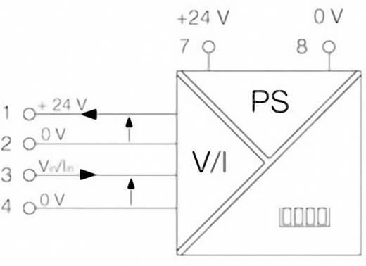 Weidmüller DI350 0-10V/0-100.0 Signalwandler/-Trenner