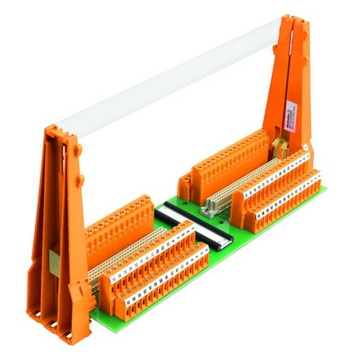 Steckkartenhalter (L x B x H) 69 x 286 x 144 mm Weidmüller SKH C64*2 (A&C) RH2 1 St.