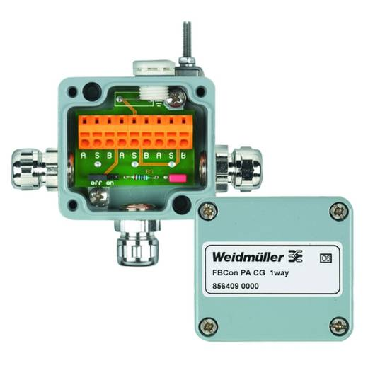 Standardverteiler Ohne Busabschluss FBCON SS DP PCG 1WAY Weidmüller Inhalt: 1 St.