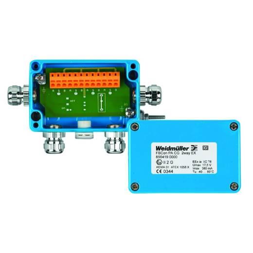 Standardverteiler für Den Ex-Bereich Eex(Ia) FBCON PA CG 2WAY EX Weidmüller Inhalt: 1 St.