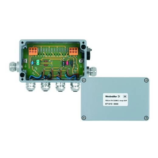 Standardverteiler mit Überspannungsschutz FBCON PA CG/M12 4WAY OVP Weidmüller Inhalt: 1 St.