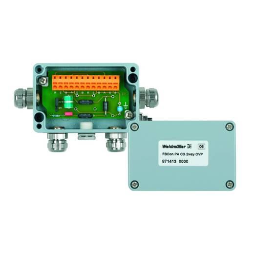 Standardverteiler mit Überspannungsschutz FBCON PA CG 2WAY OVP Weidmüller Inhalt: 1 St.