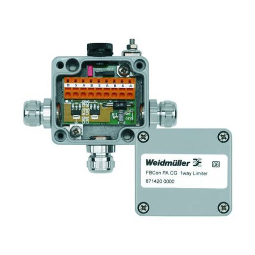Standardverteiler mit Strombegrenzung FBCON PA CG 1WAY LIMITER Weidmüller Inhalt: 1 St.