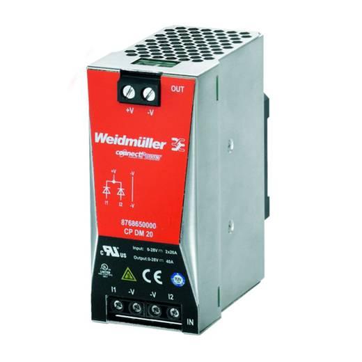 Hutschienen-Redundanz-Modul (DIN-Rail) Weidmüller 8768650000 40 A Anzahl Ausgänge: 1 x
