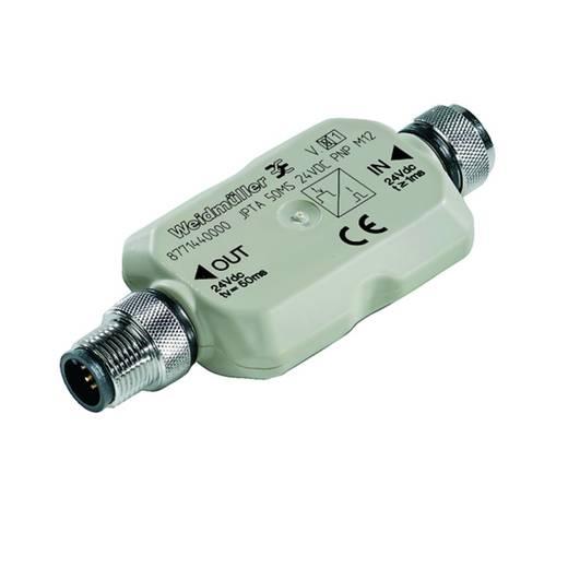 Sensor-/Aktor-Verteiler und Adapter M12 Stecker, gerade, Buchse, gewinkelt Weidmüller 8771440000 JPTA 50MS 24VDC PNP M