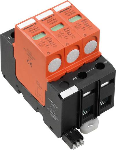 Weidmüller VPU I 3 R 280V/12,5kA 1352220000 Überspannungsschutz-Ableiter Überspannungsschutz für: Verteilerschrank 20 k