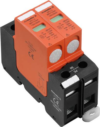 Überspannungsschutz-Ableiter Überspannungsschutz für: Verteilerschrank Weidmüller VPU I 2 280V/12,5kA 1352150000 20 kA
