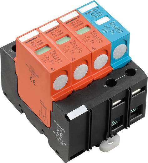 Weidmüller VPU I 3+1 280V/12,5kA 1352230000 Überspannungsschutz-Ableiter Überspannungsschutz für: Verteilerschrank 20 k