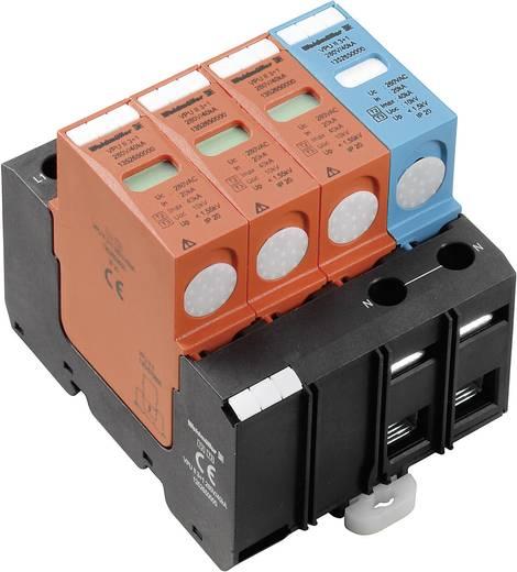Überspannungsschutz-Ableiter Überspannungsschutz für: Verteilerschrank Weidmüller VPU II 3+1 280V/40kA 1352650000 20 kA