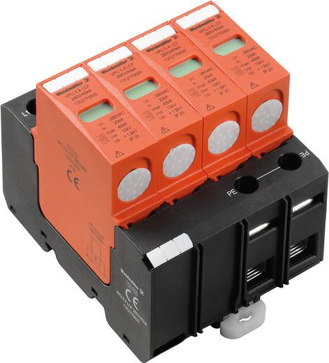Überspannungsschutz-Ableiter Überspannungsschutz für: Verteilerschrank Weidmüller VPU II 4 LCF 280V/40kA 1352770000 20