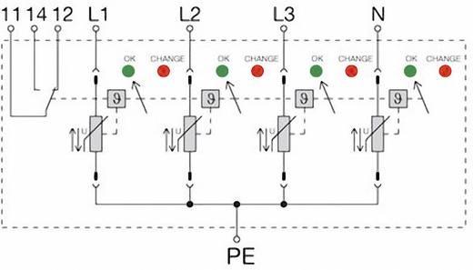 Überspannungsschutz-Ableiter Überspannungsschutz für: Verteilerschrank Weidmüller VPU II 4 R 400V/40kA 1352920000 20 kA