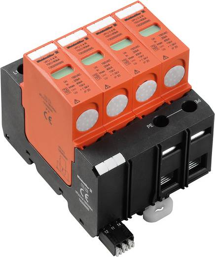 Weidmüller VPU II 4 R 150V/40kA 1352550000 Überspannungsschutz-Ableiter Überspannungsschutz für: Verteilerschrank 20 kA