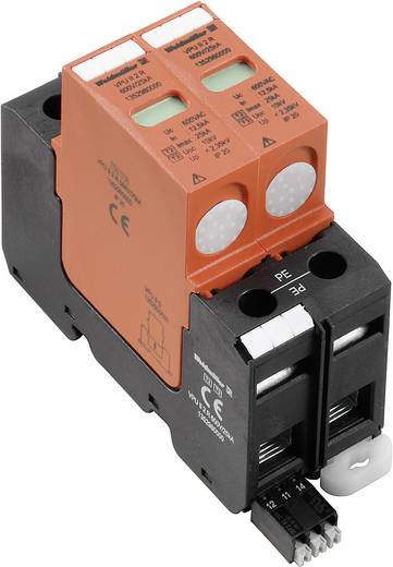 Überspannungsschutz-Ableiter Überspannungsschutz für: Verteilerschrank Weidmüller VPU II 2 R 600V/40kA 1352980000 12.5 kA