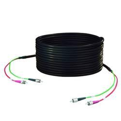 Câble de raccordement fibre optique Weidmüller 8876450050 [1x ST mâle - 1x ST mâle] 50/125µ Multimode OM2 5 m