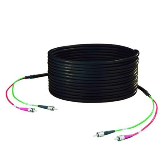 Weidmüller Glasfaser LWL Anschlusskabel [1x ST-Stecker - 1x ST-Stecker] 50/125 µ Multimode OM2 3 m