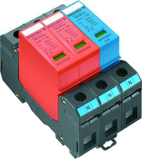 Verteilerschrank-Überspannungsschutz Überspannungsschutz für: Photovoltaik-Anlage Weidmüller VPU II 3 R PV 1200V DC 1351440000 20 kA