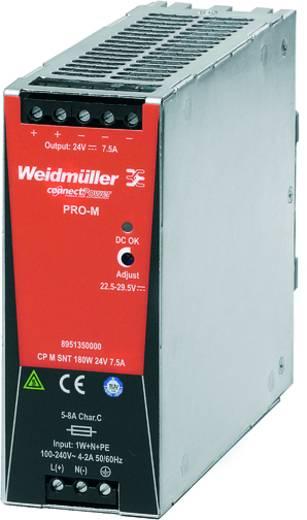 Hutschienen-Netzteil (DIN-Rail) Weidmüller CP T SNT 180W 24V 7,5A 24 V/DC 7.5 A 180 W 1 x