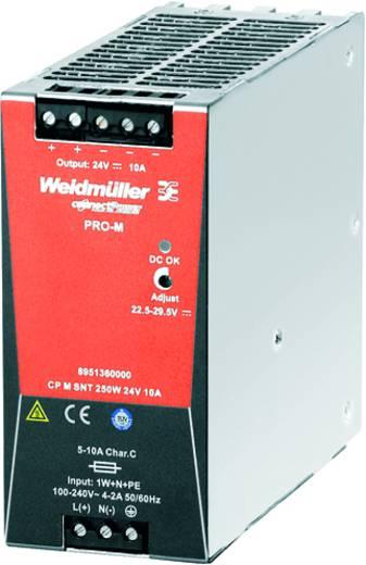 Hutschienen-Netzteil (DIN-Rail) Weidmüller CP T SNT 250W 24V 10A 24 V/DC 10 A 250 W 1 x