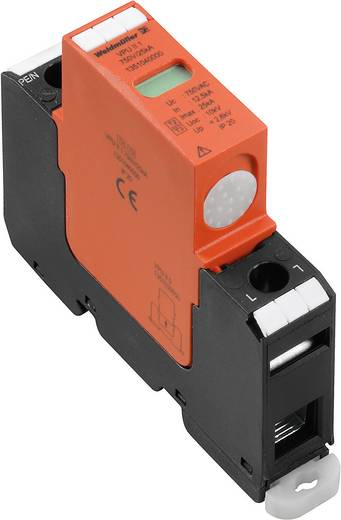 Überspannungsschutz-Ableiter Überspannungsschutz für: Verteilerschrank Weidmüller VPU II 1 750V / 40kA 1351040000 12.5 kA