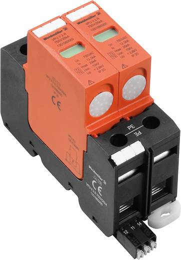 Überspannungsschutz-Ableiter Überspannungsschutz für: Verteilerschrank Weidmüller VPU II 2 R 750 / 40kA 1351080000 12.5