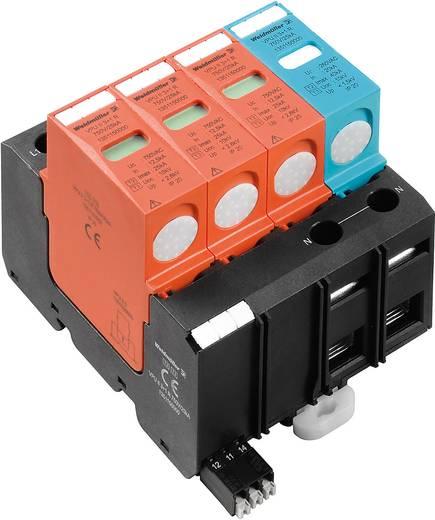 Überspannungsschutz-Ableiter Überspannungsschutz für: Verteilerschrank Weidmüller VPU II 3+1 R 750V / 40kA 1351150000 1