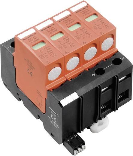 Überspannungsschutz-Ableiter Überspannungsschutz für: Verteilerschrank Weidmüller VPU II 4 R 750V / 40kA 1351130000 12.