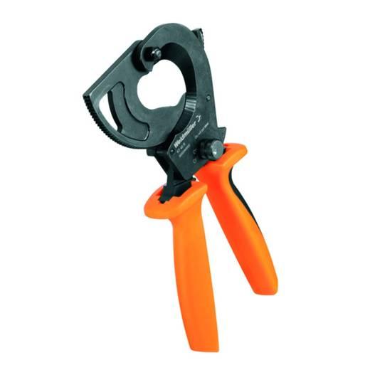 Ratschen-Kabelschneider Geeignet für (Abisoliertechnik) Alu- und Kupferkabel, ein- und mehrdrähtig 80 mm Weidmüller KT 80 NE 9202090000