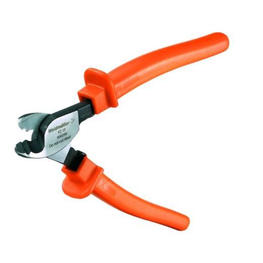 Kabelschneider Geeignet für (Abisoliertechnik) Alu- und Kupferkabel, ein- und mehrdrähtig 12 mm 25 mm² Weidmüller KT 1