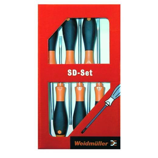 Werkstatt Schraubendreher-Set 6teilig Weidmüller Schlitz, Kreuzschlitz Phillips