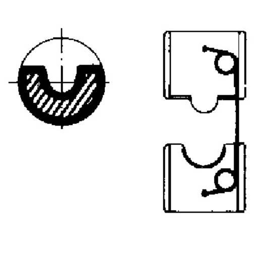 Crimpeinsatz CU Rohrkabelschuhe, CU Rohrverbinder 25 mm² (max) Weidmüller EINSATZ MTR 160 25HEX 9020920000 Passend für Marke Weidmüller 9017250000