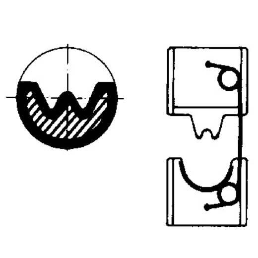 Crimpeinsatz CU Kabelschuhe, CU Kabelschuh Verbinder 120 mm² (max) Weidmüller EINSATZ MTR 160 120DIN 9021370000 Passe
