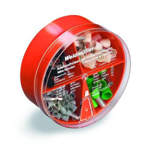 Aderendhülsen-Sortiment 4 mm² 16 mm² Grau, Schwarz, Elfenbein, Grün Weidmüller 9025920000 100 St.