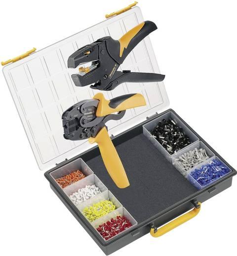 Weidmüller CRIMP-SET PZ 3 9028650000 Crimpzangen-Set Aderendhülsen 0.5 bis 6 mm² Inkl. Abisolierzange, Inkl. Crimpsorti