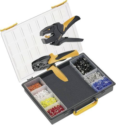 Crimpzangen-Set Aderendhülsen 0.14 bis 6 mm² Inkl. Crimpsortiment mit Koffer Weidmüller CRIMP-SET PZ 6 ROTO 9028680000