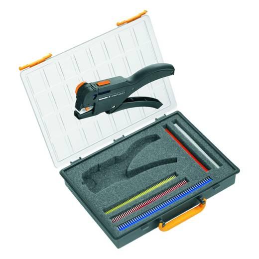 Crimpzangen-Set Aderendhülsen 0.5 bis 2.5 mm² Inkl. Crimpsortiment mit Koffer Weidmüller CRIMP-SET STRIPAX PLUS 90287
