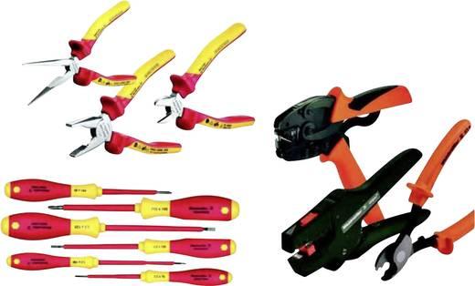 Heimwerker Werkzeugset im Koffer 10teilig Weidmüller 9204160000