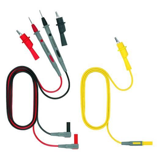 Sicherheits-Messleitungs-Set [ Lamellenstecker 4 mm - Abgreifklemmen, Prüfspitze] 1 m Weidmüller ACC TEMPHASER