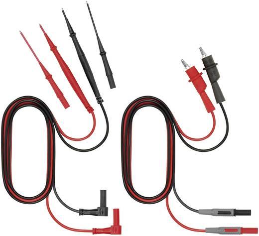 Sicherheits-Messleitungs-Set [ Lamellenstecker 4 mm - Abgreifklemmen, Prüfspitze] 1 m Weidmüller ZUB MULTI 1037