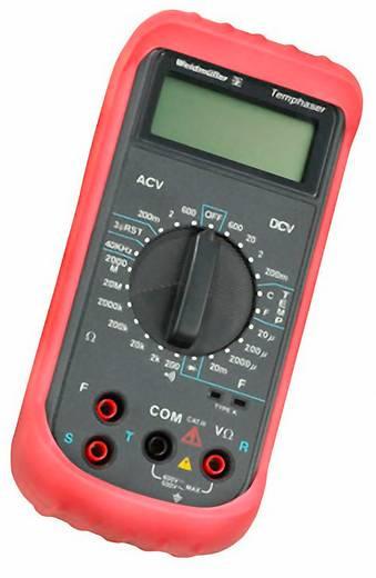 Hand-Multimeter digital Weidmüller TEMPHASER Kalibriert nach: Werksstandard (ohne Zertifikat) CAT III 600 V Anzeige (Co