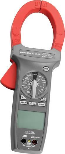 Stromzange, Hand-Multimeter digital Weidmüller MULTIMETER C 2606 Kalibriert nach: Werksstandard CAT III 1000 V Anzeige (Counts): 4000