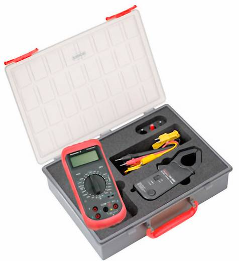 Stromzange, Hand-Multimeter digital Weidmüller MG KIT CA 600 Kalibriert nach: Werksstandard CAT III 600 V Anzeige (Counts): 2000