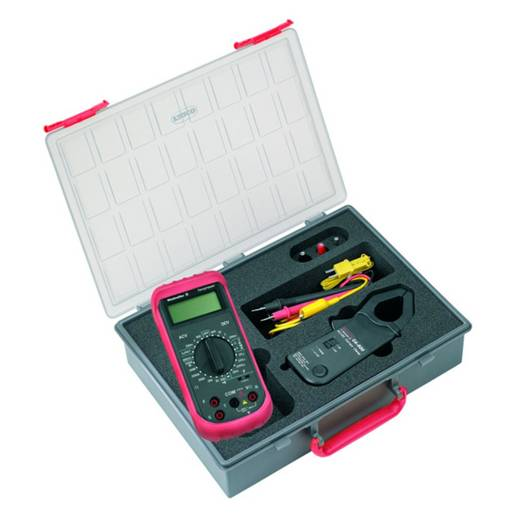 Stromzange, Hand-Multimeter digital Weidmüller MG KIT CA 600 Kalibriert nach: Werksstandard (ohne Zertifikat) CAT III 6