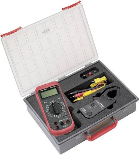 Stromzange, Hand-Multimeter digital Weidmüller MG KIT CA 600 Kalibriert nach: Werksstandard CAT III 600 V Anzeige (Counts): 2000
