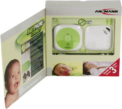 Babyphone Digital Ansmann 1800-0025-510 BabyPhone Sydney 1.9 GHz