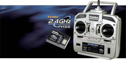 Futaba Skysport T4YF Hand-Fernsteuerung 2,4 GHz Anzahl Kanäle: 4 inkl. Empfänger