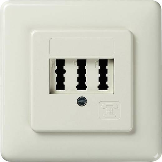 Telefondose NFF Unterputz Weiß