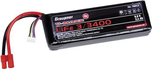 Modellbau-Akkupack (LiFe) 9.9 V 3400 mAh 30 C Graupner Stick G3.5