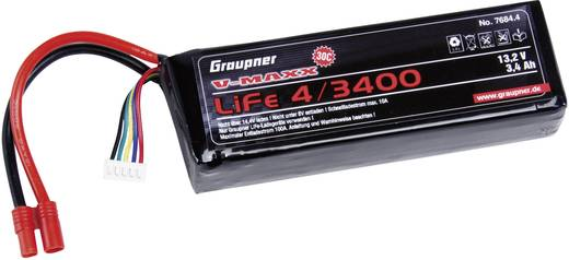 Modellbau-Akkupack (LiFe) 13.2 V 3400 mAh 30 C Graupner Stick G3.5